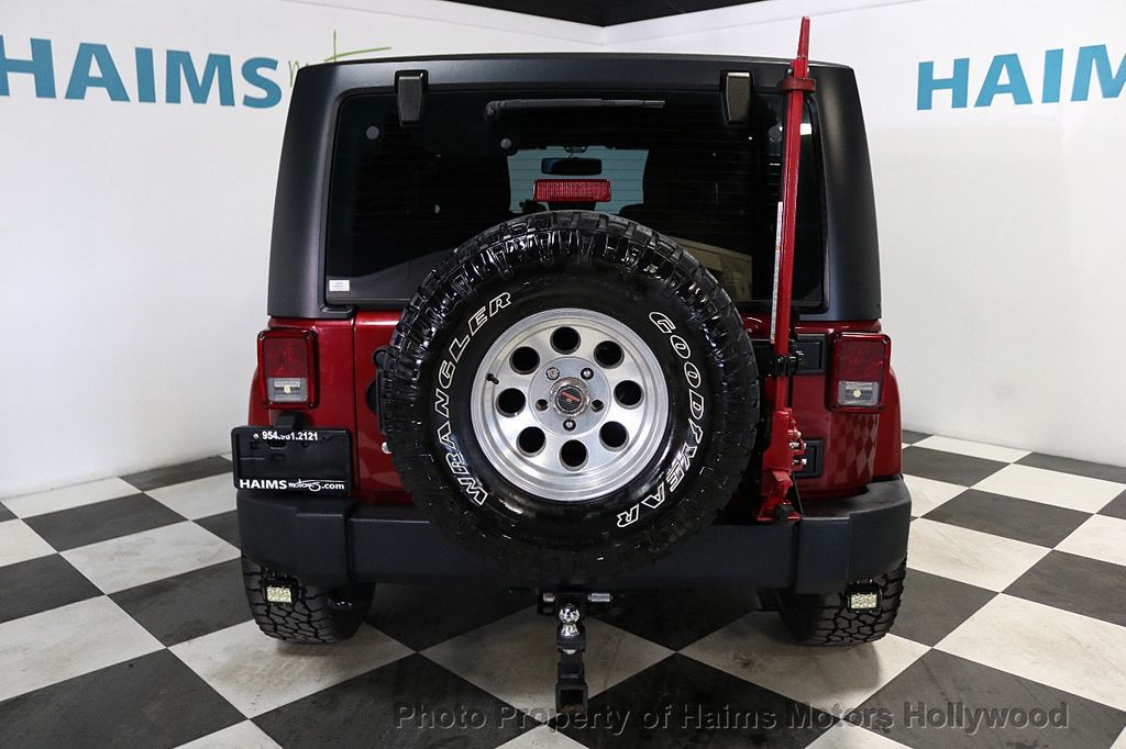 2012 Jeep Wrangler 4WD 2dr Freedom Edition - 18588730 - 14
