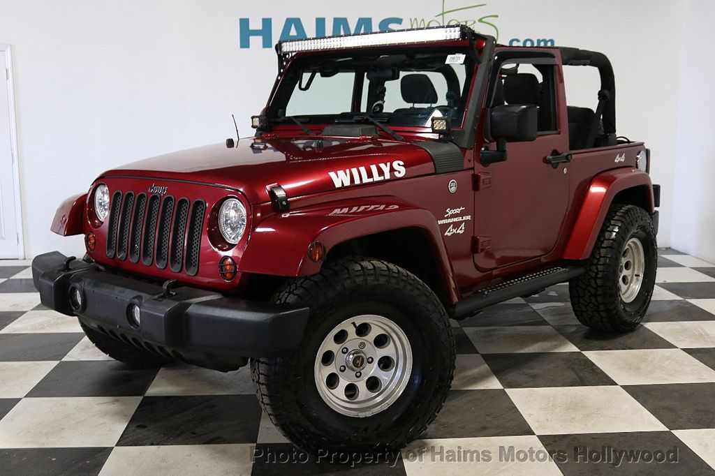 2012 Jeep Wrangler 4WD 2dr Freedom Edition - 18588730 - 1