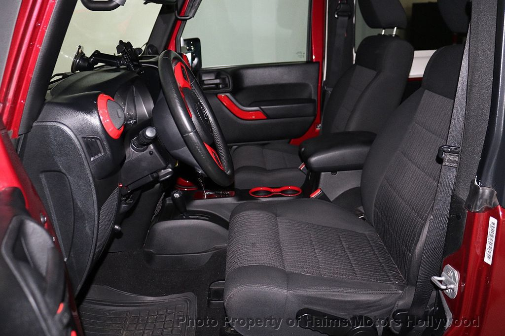 2012 Jeep Wrangler 4WD 2dr Freedom Edition - 18588730 - 23