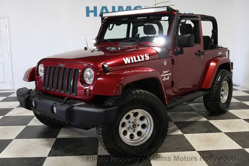 2012 Jeep Wrangler 4WD 2dr Freedom Edition - 18588730 - 2