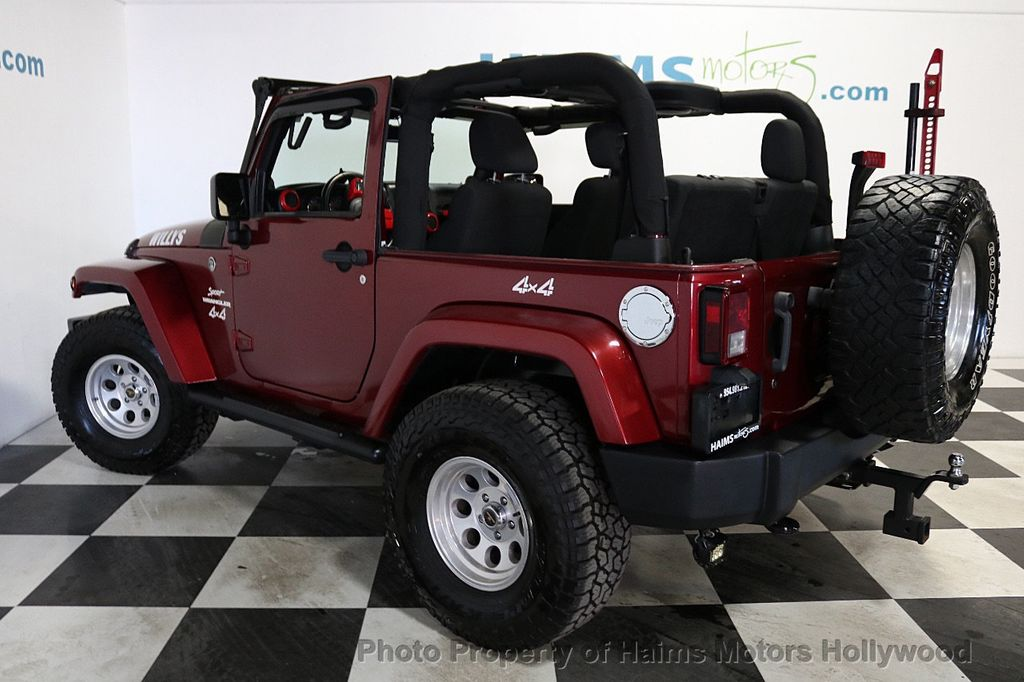 2012 Jeep Wrangler 4WD 2dr Freedom Edition - 18588730 - 5