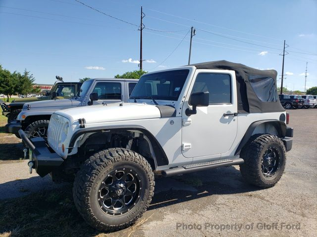 2012 Jeep Wrangler 4WD 2dr Freedom Edition