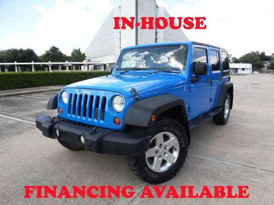 2012 Jeep Wrangler Unlimited 2012 Jeep Wrangler RHD with 4WD, 4DR, 2-Owner, Keyless Entry SUV