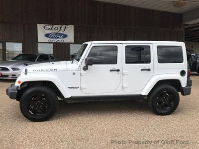 2012 Jeep Wrangler Unlimited 4WD 4dr Rubicon SUV