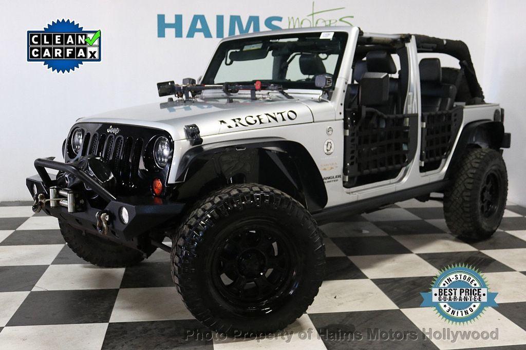 2012 Jeep Wrangler Unlimited 4WD 4dr Sahara - 18663321 - 0