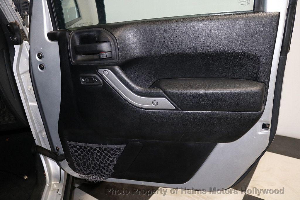 2012 Jeep Wrangler Unlimited 4WD 4dr Sahara - 18663321 - 21