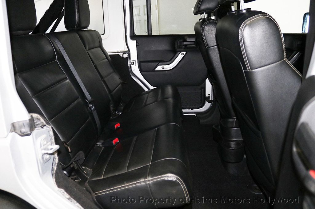 2012 Jeep Wrangler Unlimited 4WD 4dr Sahara - 18663321 - 23