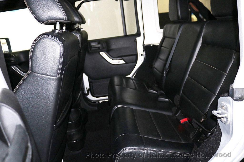 2012 Jeep Wrangler Unlimited 4WD 4dr Sahara - 18663321 - 24