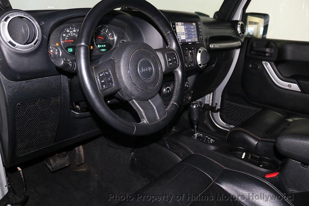 2012 Jeep Wrangler Unlimited 4WD 4dr Sahara - 18663321 - 26