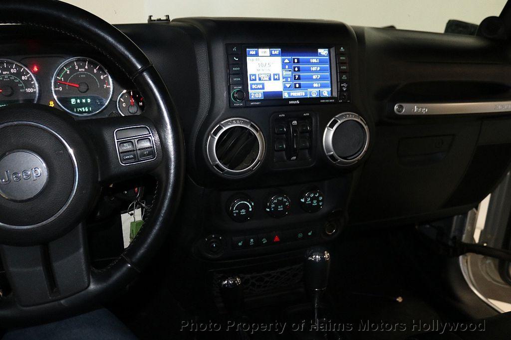 2012 Jeep Wrangler Unlimited 4WD 4dr Sahara - 18663321 - 27