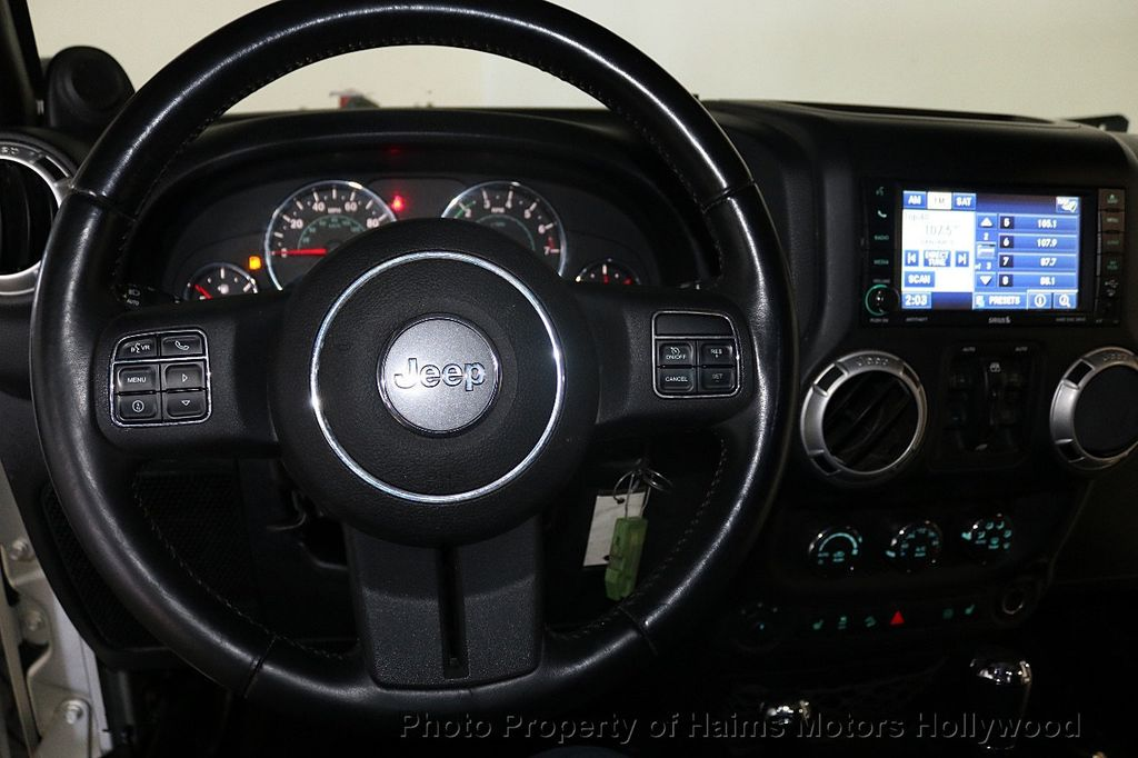 2012 Jeep Wrangler Unlimited 4WD 4dr Sahara - 18663321 - 34