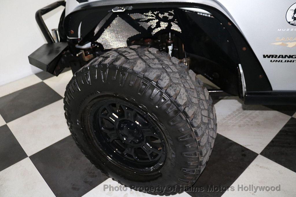 2012 Jeep Wrangler Unlimited 4WD 4dr Sahara - 18663321 - 37