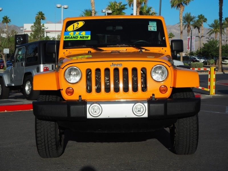 2012 Jeep Wrangler Unlimited 4WD 4dr Sahara - 17753936 - 1