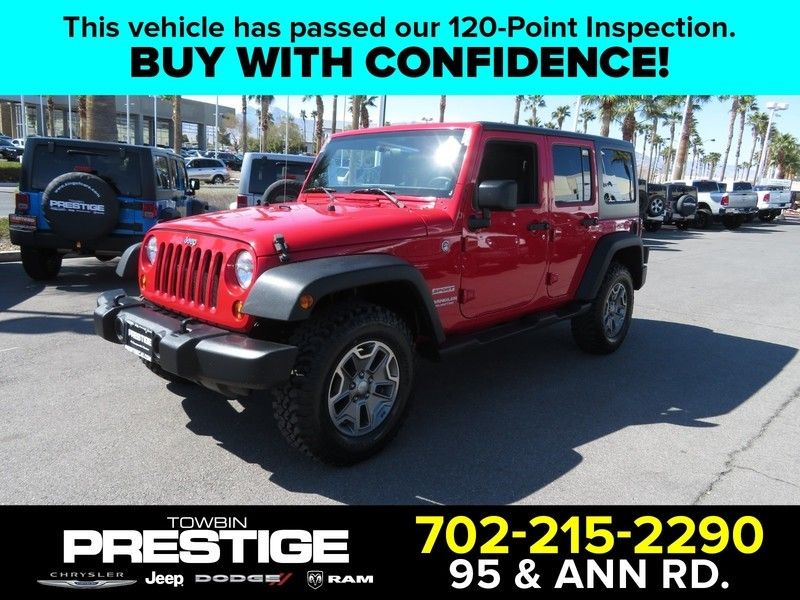 2012 Jeep Wrangler Unlimited 4WD 4dr Sport - 17382684 - 0