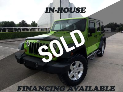 2012 Jeep Wrangler Unlimited 4WD 4dr Sport RHD - Click to see full-size photo viewer