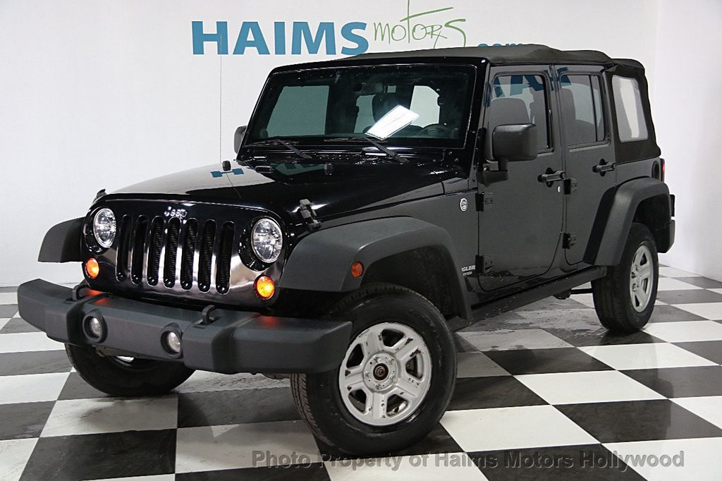 2012 used jeep wrangler unlimited sport at haims motors serving fort lauderdale hollywood. Black Bedroom Furniture Sets. Home Design Ideas