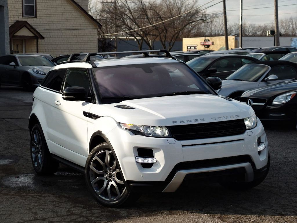 2012 Land Rover Range Rover Evoque 2dr Coupe Dynamic Premium - 19686736 - 36