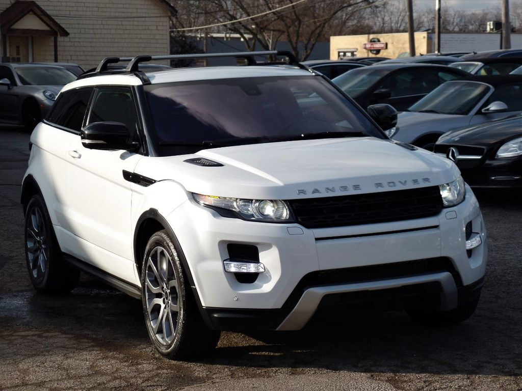 2012 Land Rover Range Rover Evoque 2dr Coupe Dynamic Premium - 19686736 - 4