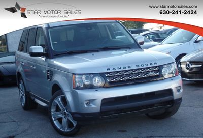 2012 Land Rover Range Rover Sport 4WD 4dr HSE LUX SUV