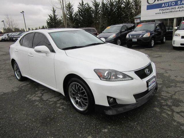 2012 Lexus IS 250 4dr Sport Sedan Automatic AWD Sedan for Sale Lynnwood, WA  - $15,988 - Motorcar com
