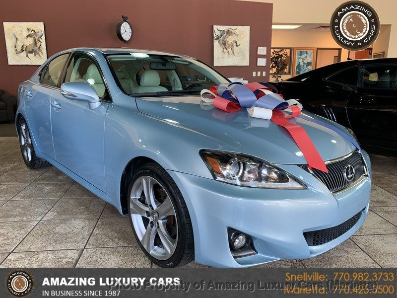 2012 Lexus IS 250 4dr Sport Sedan Automatic RWD - 19494910 - 0