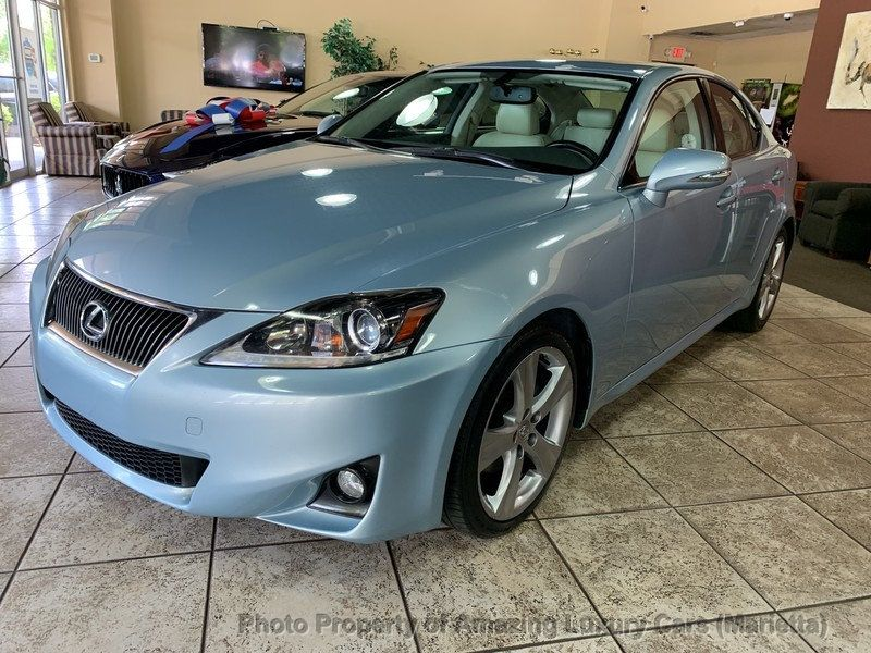 2012 Lexus IS 250 4dr Sport Sedan Automatic RWD - 19494910 - 53