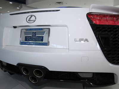 2012 Lexus LFA 2dr Coupe - Click to see full-size photo viewer