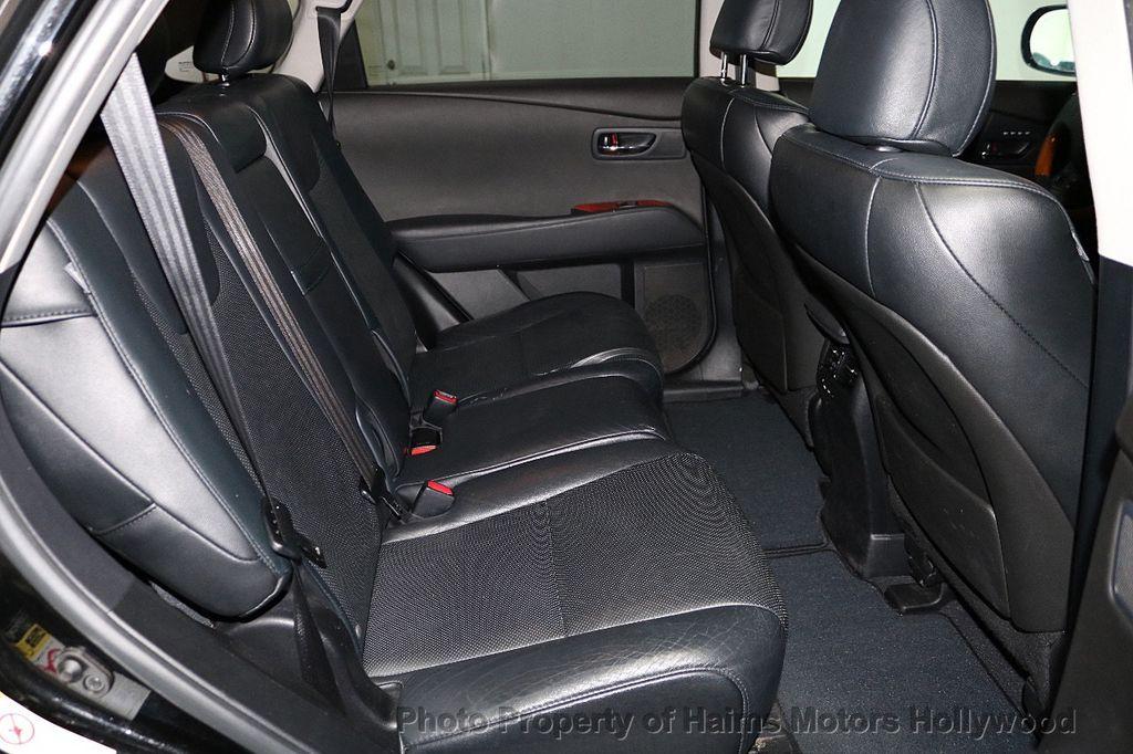 2012 Lexus RX 350 FWD 4dr - 18602909 - 15