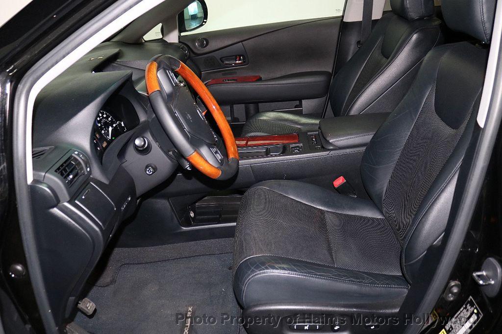 2012 Lexus RX 350 FWD 4dr - 18602909 - 17