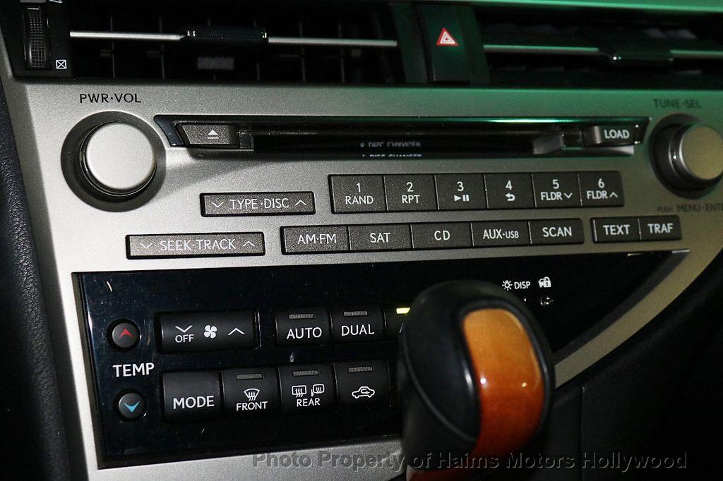 2012 Lexus RX 350 FWD 4dr - 18602909 - 21