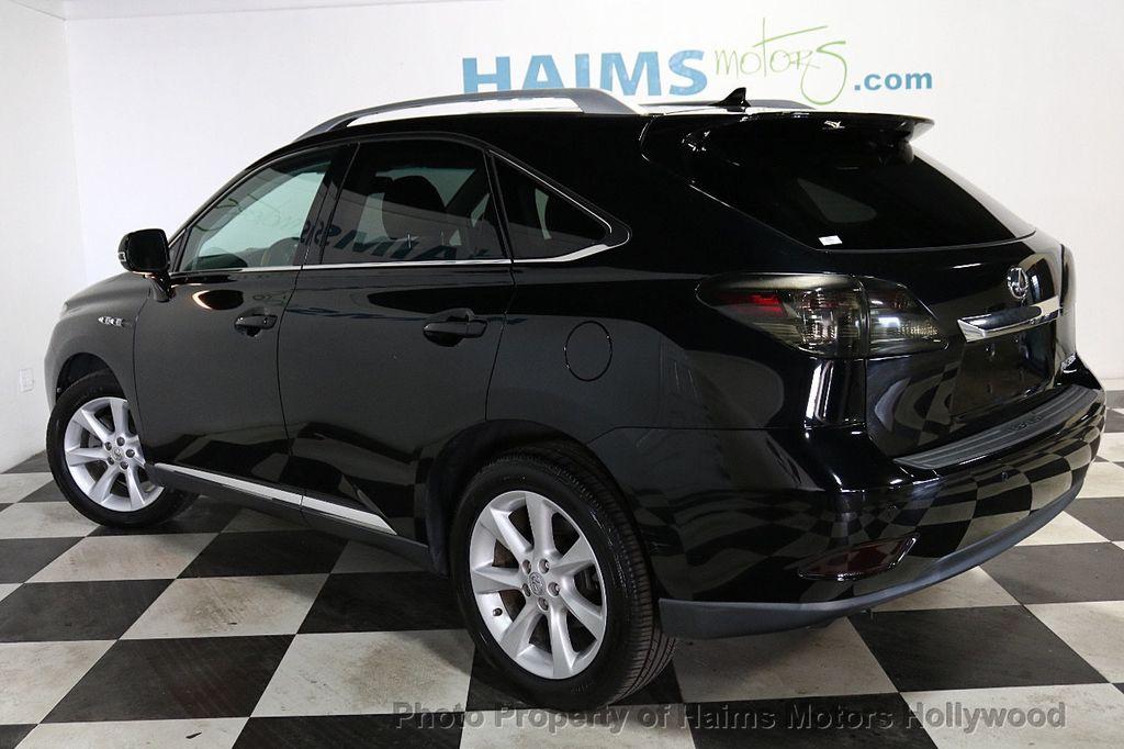 2012 Lexus RX 350 FWD 4dr - 18602909 - 4