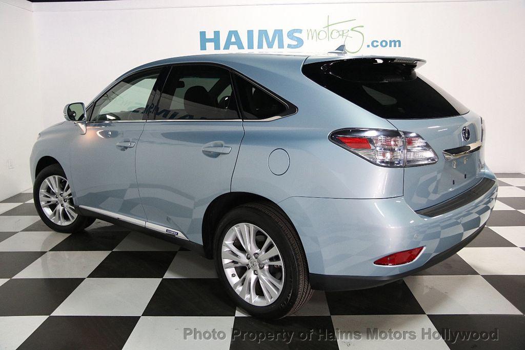 2012 Lexus RX 450h Base Trim   16421856   3