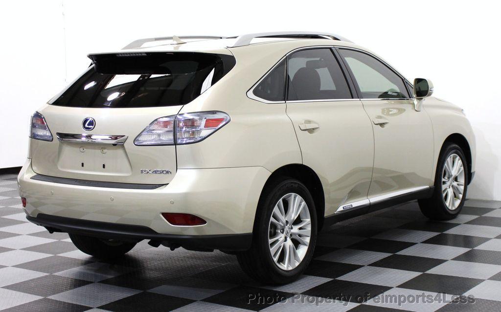 2012 Lexus RX 450h CERTIFIED RX450h AWD HYBRID SUV PREMIUM / NAVIGATION    14801011   3
