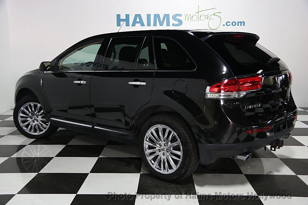 2012 used lincoln mkx awd 4dr at haims motors serving fort. Black Bedroom Furniture Sets. Home Design Ideas