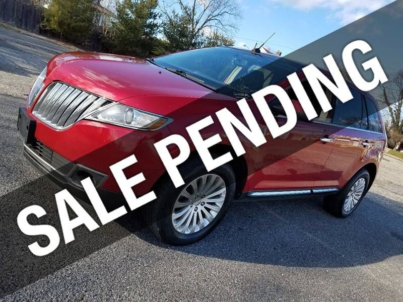 2012 Used Lincoln Mkx Mkx Awd At Contact Us Serving Cherry Hill Nj