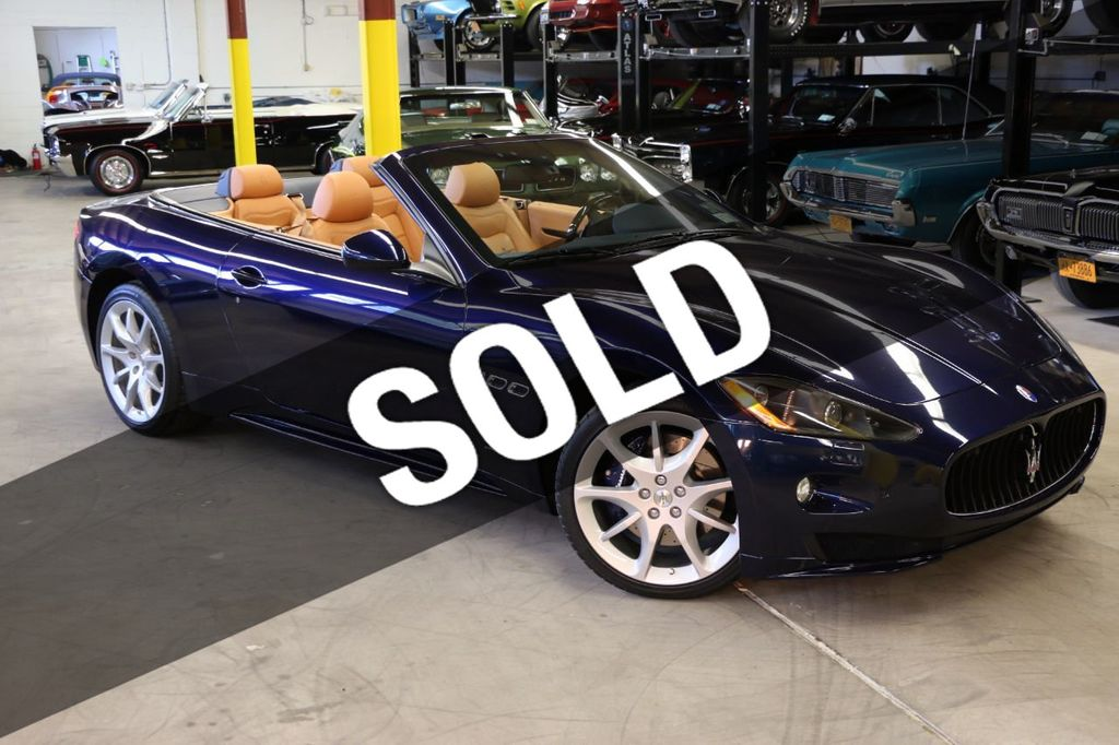 Used Maserati Granturismo >> 2012 Used Maserati Granturismo Convertible 2dr Sport At Webe