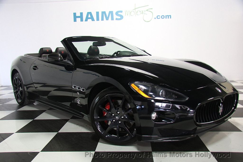 2012 used maserati granturismo convertible best price in town at haims motors hollywood serving. Black Bedroom Furniture Sets. Home Design Ideas