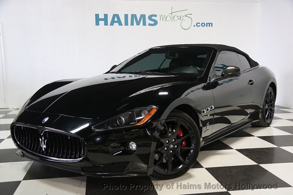 2012 used maserati granturismo convertible best price in town at haims motors ft lauderdale. Black Bedroom Furniture Sets. Home Design Ideas