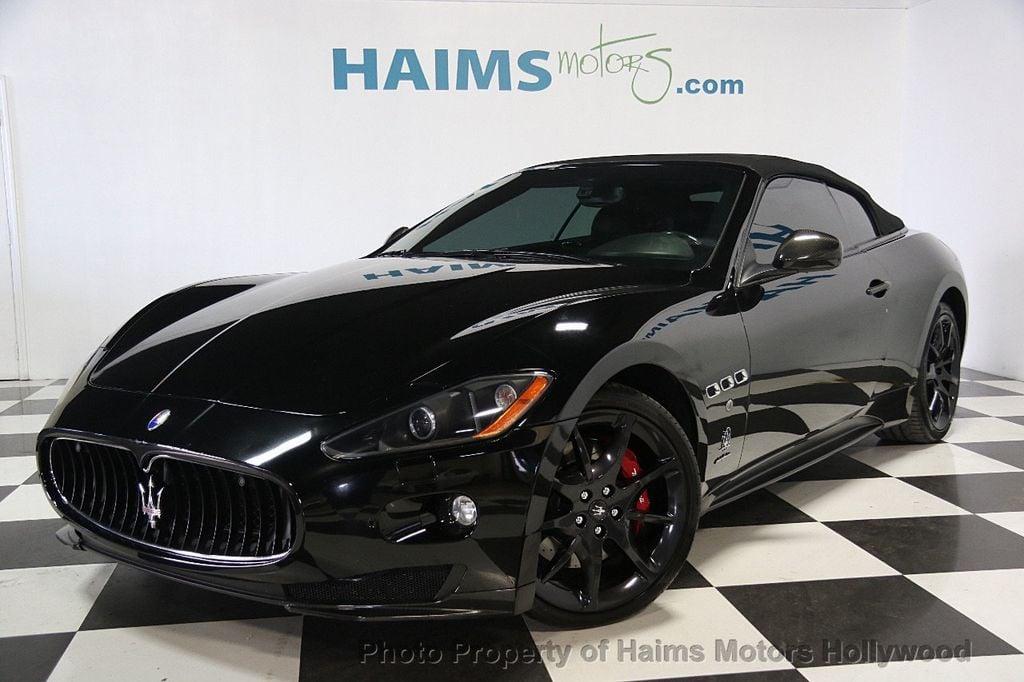 Maserati Fort Lauderdale >> 2012 Used Maserati GranTurismo Convertible BEST PRICE IN ...