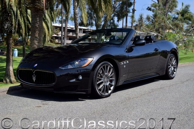 2012 used maserati granturismo convertible gran turismo. Black Bedroom Furniture Sets. Home Design Ideas