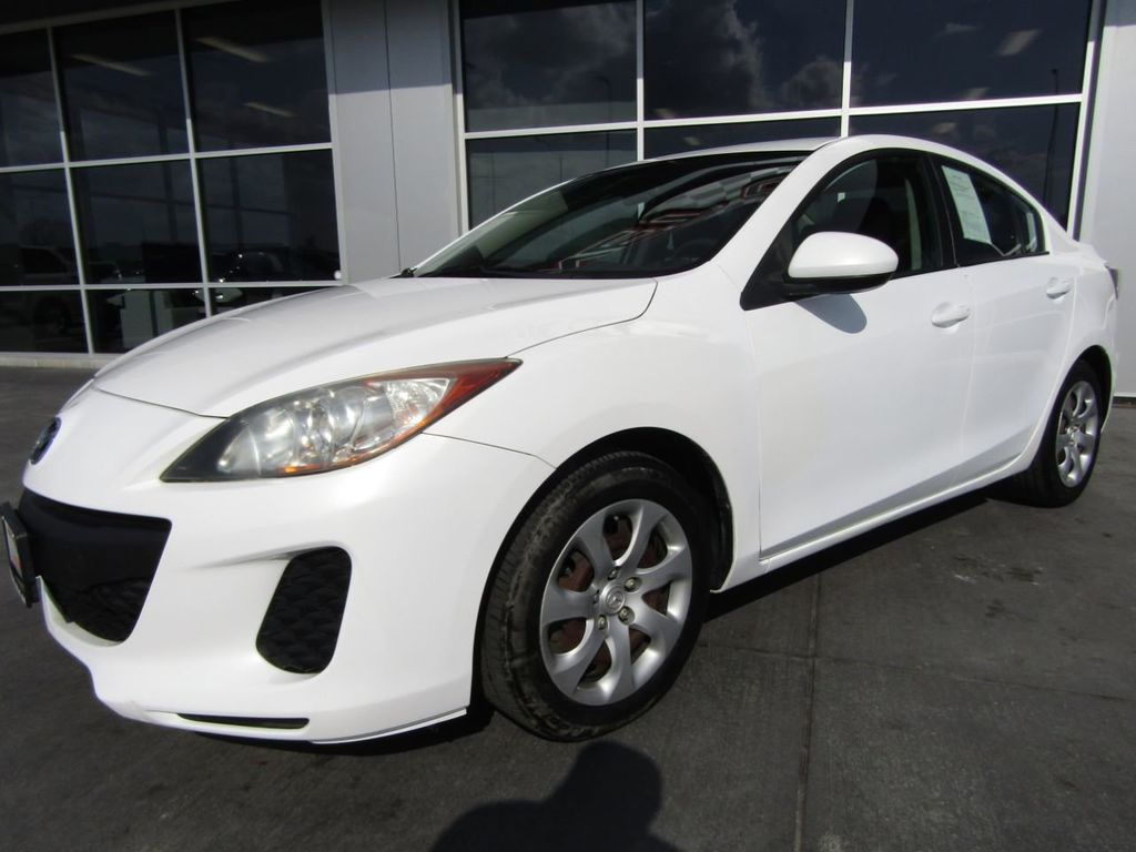 2012 Used Mazda Mazda3 4dr Sedan Automatic I Sport At The Internet Car Lot Serving Omaha Iid