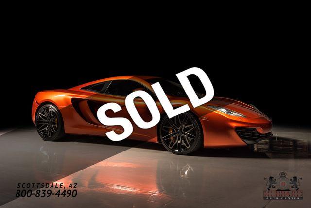2012 McLaren MP4-12C Original MSRP $256,435, Fabspeed Exhaust, Full Front Clearbra
