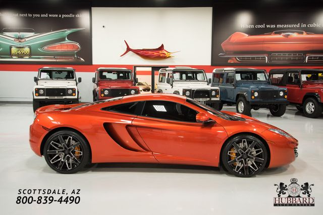 2012 McLaren MP4-12C Original MSRP $256,435, Fabspeed Exhaust, Full Front Clearbra - Click to see full-size photo viewer