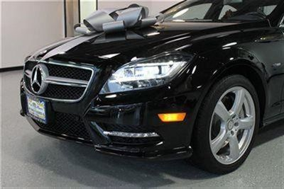 2012 Mercedes-Benz CLS 4dr Coupe CLS550 4MATIC - Click to see full-size photo viewer