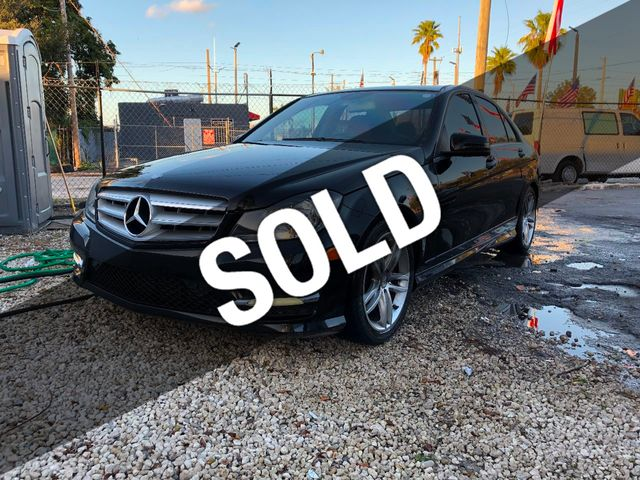 2012 Used Mercedes-Benz C-Class at JV Auto Wholesale Serving MIami