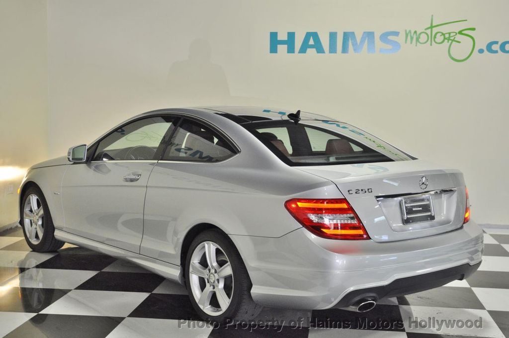 2012 used mercedes benz c class 2dr coupe c250 rwd at for 2012 mercedes benz c250 coupe