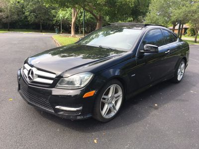 2012 Mercedes-Benz C-Class 2dr Coupe C250 RWD