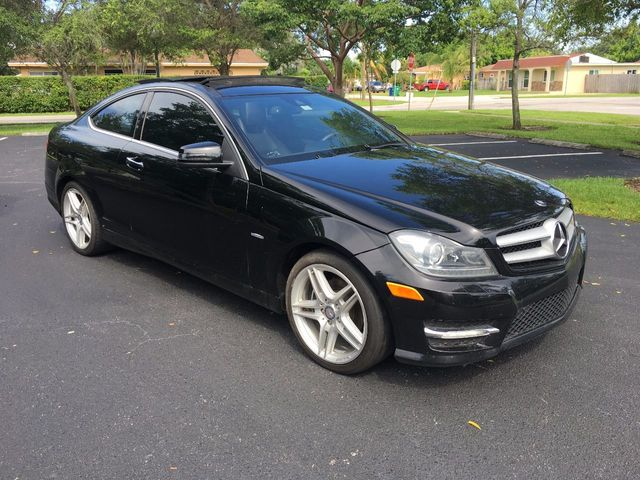 2012 Mercedes-Benz C-Class 2dr Coupe C250 RWD - Click to see full-size photo viewer