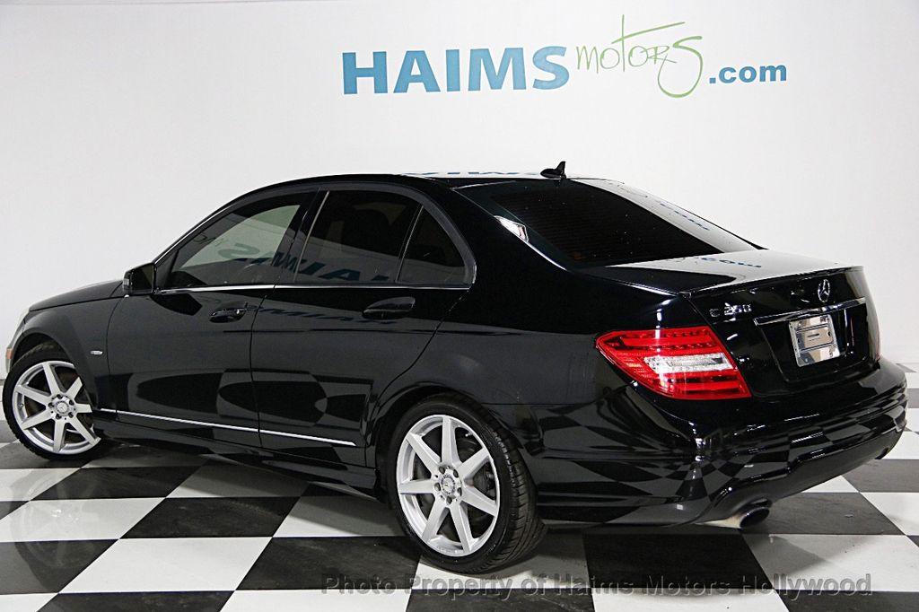 2012 Used Mercedes-Benz C-Class 4dr Sedan C250 Sport RWD ...