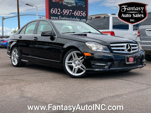 2012 Used Mercedes Benz C Class 4dr Sedan C 250 Sport Rwd At Fantasy Auto Sales Inc Serving Phoenix Az Iid 19198045